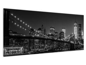 Slika Brooklynskog mosta u New Yorku (V020940V10040)