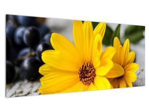 Obraz žluté květiny (V020952V10040)