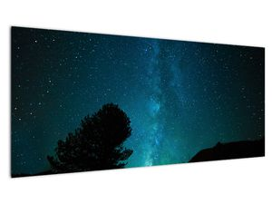 Obraz nočnej oblohy s hviezdami (V021100V10040)