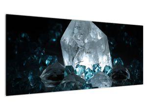 Schilderij - Kristal (V021107V10040)