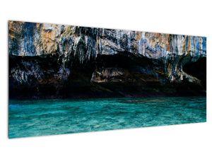 A víz és a sziklák képe (V021152V10040)