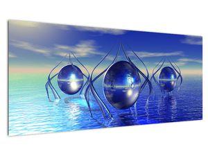 Obraz abstrakce - voda (V021284V10040)