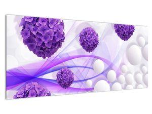 Obraz - Koule, kuličky, květy, ... (V021304V10040)