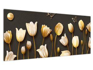 Obraz - Tulipány - abstraktné (V021347V10040)