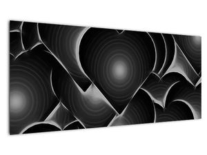 Slika crno-bijelih srca (V021364V10040)
