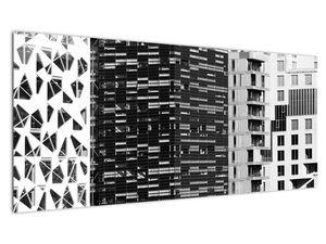 Slika crno-bijele arhitekture (V021524V10040)