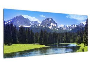 Slika - Snježni planinski vrhovi (V021908V10040)
