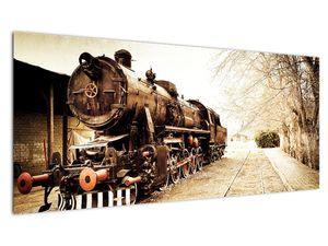 Slika - Povijesna lokomotiva (V021959V10040)