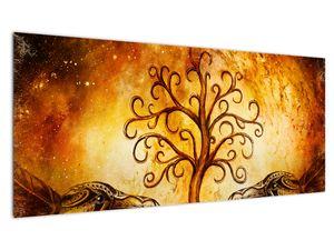 Naravna abstraktna slika drevesa (V022111V10040)