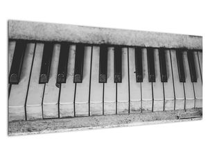 Egy régi zongora képe (V022562V10040)