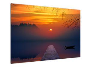 Híd képe naplementekor (V020012V10070)
