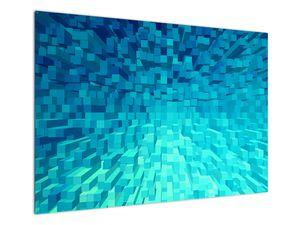 Obraz - abstraktní kostky (V020021V10070)