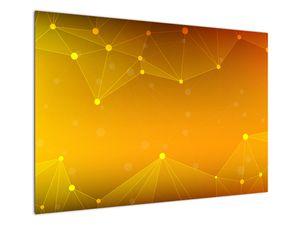 Abstraktní žlutý obraz (V020045V10070)