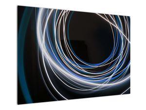 Tablou cu linii albastre (V020053V10070)