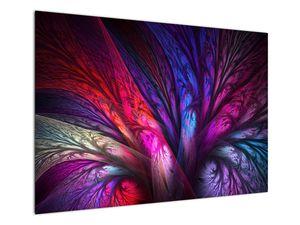 Tablou abstract cu copacul (V020125V10070)