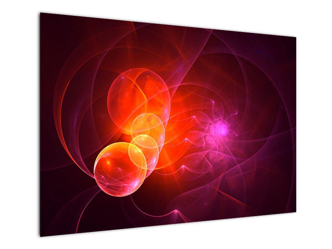 Moderní obraz růžové abstrakce (V020129V10070)