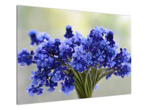 Obraz kytice modrých květů (V020175V10070)