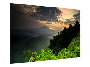 Obraz - zelená horská krajina (V020249V10070)