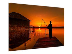 Tablou cu pescar (V020264V10070)