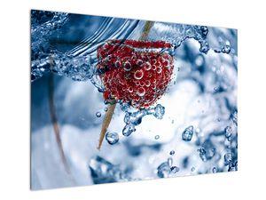 Kép - málna részlete a vízben (V020516V10070)
