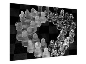 Obraz - černobílé šachy (V020598V10070)