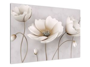Obraz bílých květin (V020898V10070)