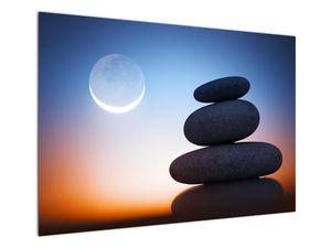 Obraz poskládaných kamenů na sobě (V020903V10070)