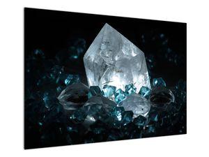 Schilderij - Kristal (V021107V10070)