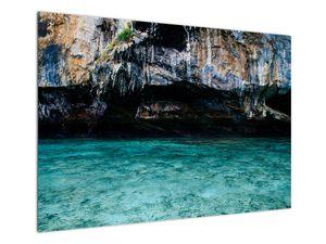 A víz és a sziklák képe (V021152V10070)