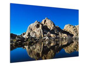 Obraz zrkadlenie skál (V021327V10070)