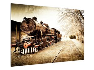 Slika - Povijesna lokomotiva (V021959V10070)