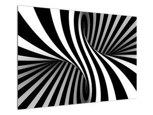 Absztrakt kép zebra csíkokkal (V021960V10070)