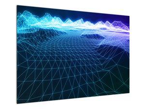Slika - Planine u računalnom modelu (V022019V10070)