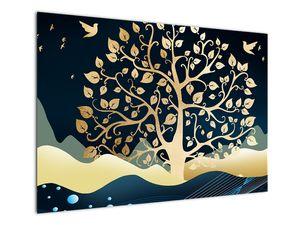 Slika zlatega drevesa (V022286V10070)
