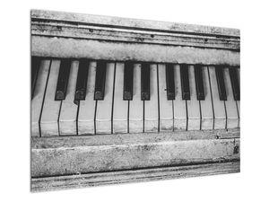 Egy régi zongora képe (V022562V10070)