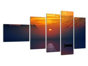 Híd képe naplementekor (V020012V11060)