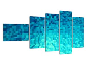 Obraz - abstraktní kostky (V020021V11060)