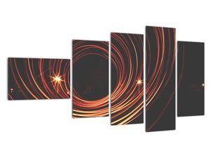 Obraz abstraktních linek (V020030V11060)