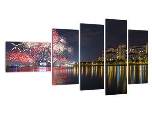 Tablou cu artificii in Singapur (V020035V11060)