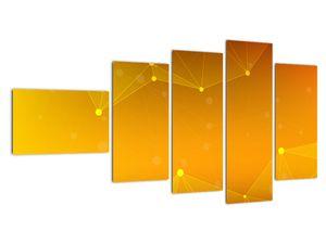 Abstraktní žlutý obraz (V020045V11060)