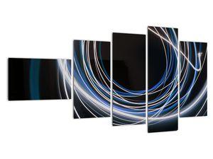 Tablou cu linii albastre (V020053V11060)