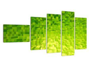Obraz žlutozelených kostiček (V020057V11060)