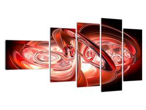 Tablou - forme roșii (V020064V11060)