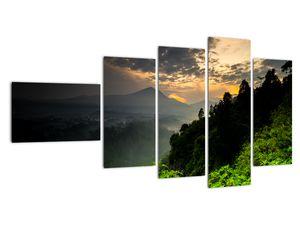Obraz - zelená horská krajina (V020249V11060)