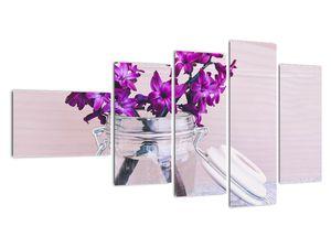 Obraz fialových květin (V020367V11060)