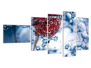 Kép - málna részlete a vízben (V020516V11060)