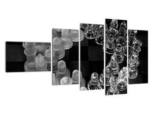 Obraz - černobílé šachy (V020598V11060)