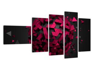 Obraz 3D abstrakce (V020866V11060)