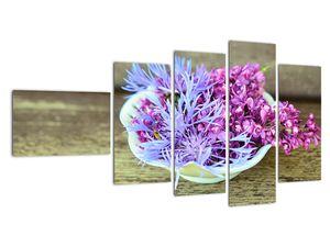 Obraz dekorace s levandulí (V020874V11060)