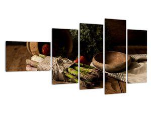 Obraz špargle na stole (V020883V11060)